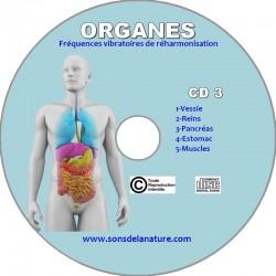 Organes CD 3
